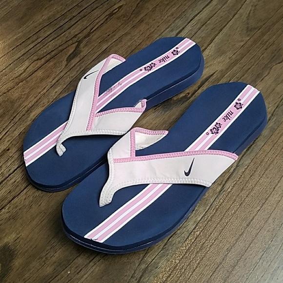 2a5f9ff90eba Nike Celso Thong Womens 314870-408 Blue Pink. M 5ace9b7f739d48b4bcf4a59c